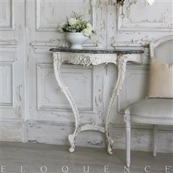 Eloquence French Country Style Antique Iron Console: 1880 | Kathy Kuo Home