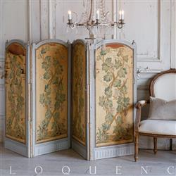 Eloquence French Country Style Antique Room Divider | Kathy Kuo Home
