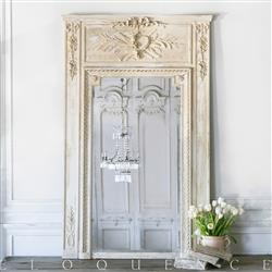 Eloquence French Country Style Antique Trumeau Mirror: 1900 | Kathy Kuo Home