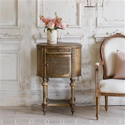 Eloquence French Country Style Vintage Nightstand | Kathy Kuo Home