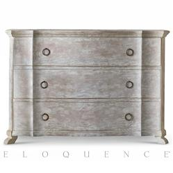Eloquence® Grande Bordeaux Commode in Beach House Natural | Kathy Kuo Home