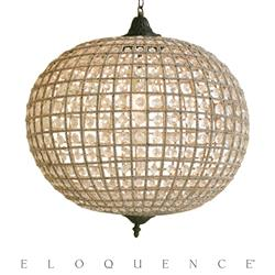 Eloquence® Large Globe Chandelier | Kathy Kuo Home