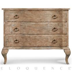 Eloquence® Oskar Commode in Farmhouse Oak | Kathy Kuo Home