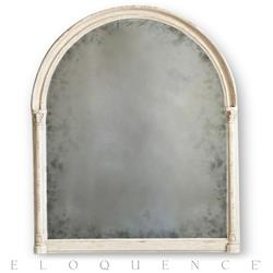 Eloquence® Renaissance Mirror in Weathered White | Kathy Kuo Home