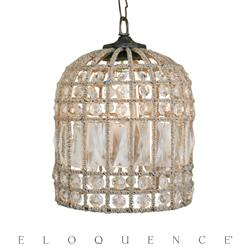 Eloquence® Small Birdcage Chandelier | Kathy Kuo Home