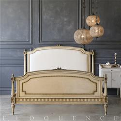 Eloquence Vintage Bed: 1940 | Kathy Kuo Home