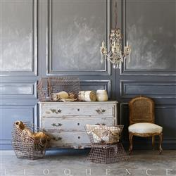 Eloquence Vintage Iron Baskets | Kathy Kuo Home