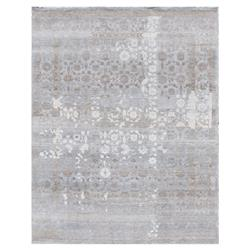 Exquisite Rugs Gisella Global Bazaar Moroccan Pattern Distressed Blue Taupe Rug - 8' x 10' | Kathy Kuo Home