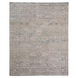 Exquisite Rugs Gisella Global Bazaar Moroccan Pattern Distressed Grey Taupe Rug - 8' x 10' | Kathy Kuo Home