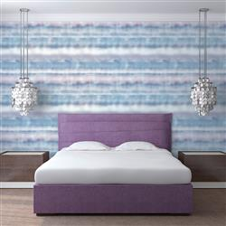 Fade Cloud Modern Classic Removable Wallpaper | Kathy Kuo Home