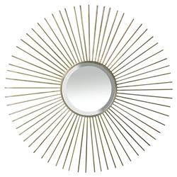 Fiona Oly Brass Sunburst Mirror - 39D | Kathy Kuo Home