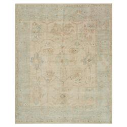 Forrest French Antique Blue Stone Wool Rug - 7'9x9'9 | Kathy Kuo Home