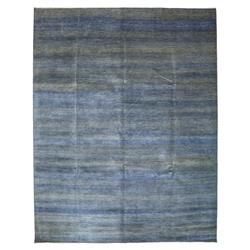 Frazier Blue Sage Small Pattern Wool Rug - 9'2 x 11'8 | Kathy Kuo Home