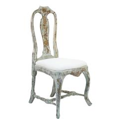 French Country Provence Style Dining Chair | Kathy Kuo Home