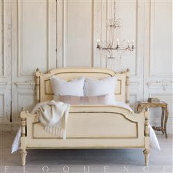 French Country Style Vintage Bed 1940