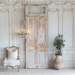 French Country Style Vintage Doors: 1940 | Kathy Kuo Home
