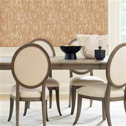 Golden Shimmer Modern Classic Removable Wallpaper | Kathy Kuo Home