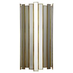 Grayson Mirrored Electric Oly Studio Sconce | Kathy Kuo Home