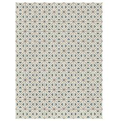Irena Ivory Hand Knotted Tibetan Wool Rug - 4x6 | Kathy Kuo Home