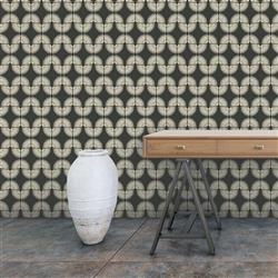 Ivory Caterpillar Global Bazaar Removable Wallpaper | Kathy Kuo Home