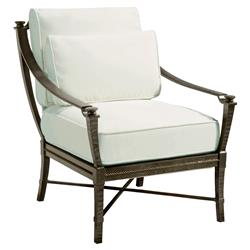 Jane Modern French Metal White Outdoor Arm Chair | Kathy Kuo Home