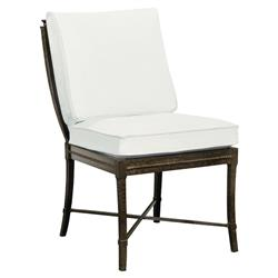 Jane Modern French Metal White Outdoor Dining Chair | Kathy Kuo Home