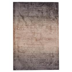 Janet Modern Classic Grey Ombre Viscose Rug - 5x8 | Kathy Kuo Home