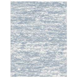 Kaley Light Blue Hand Knotted Tibetan Wool Rug - 4x6 | Kathy Kuo Home