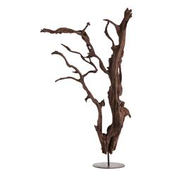 Kazu Root Mangrove Tree Iron Floor Sculpture | Kathy Kuo Home