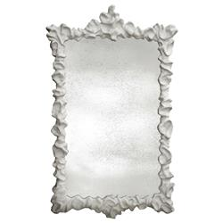Klemm Oly Frost White Large Mirror - 65H | Kathy Kuo Home