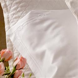 Lili Alessandra Casablanca Regency Sheet Set - White Queen | Kathy Kuo Home