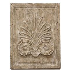 Maconnerie French Country Acanthus Leaf Carved Wood Wall Panel | Kathy Kuo  Home