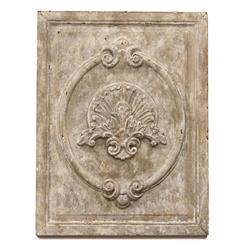Maconnerie French Country White Carved Wood Wall Panel | Kathy Kuo Home