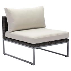 Madeline Modern Classic Aluminum Outdoor Side Chair | Kathy Kuo Home