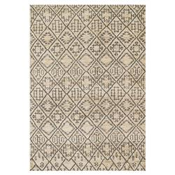 Makena Global Bazaar Sand Grey Boho Rug - 4x6 | Kathy Kuo Home