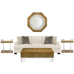 Mercer Modern Classic Living Room Set | Kathy Kuo Home