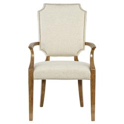 Mercer Modern Classic Shield Ash Wood Armchair | Kathy Kuo Home