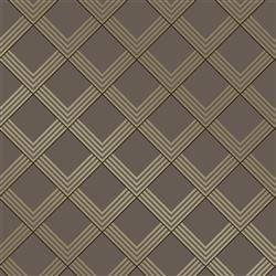 Metallic Bronze Chevron Removable Wallpaper | Kathy Kuo Home