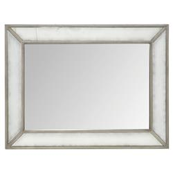 Michaela French Country Antique Glass Wood Frame Wall Mirror | Kathy Kuo Home