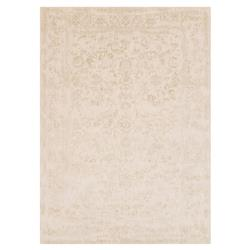 Mina Hollywood Regency Ivory Scroll Rug - 3'7x5'7 | Kathy Kuo Home