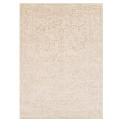 Mina Hollywood Regency Ivory Scroll Rug - 7'10x10'10 | Kathy Kuo Home