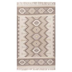 Mohave Global Grey Taupe Outdoor Rug - 3'6x5'6 | Kathy Kuo Home