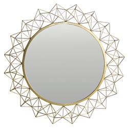 Oly Kaleidoscope Round Large Mirror - 48D | Kathy Kuo Home