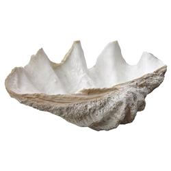 Oly Lombock Clam Shell Ornament - 28W | Kathy Kuo Home