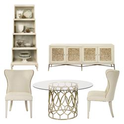 Oriana Modern Classic Dining Room Set | Kathy Kuo Home