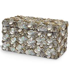 Palecek Abalone Shell Coastal Beach Abalone Shell Box | Kathy Kuo Home