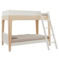 Perch Modern Classic Oeuf Twin Bunk Bed - Birch | Kathy Kuo Home