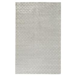 Pierson Regency Lustrous High Low Taupe Grey Rug - 8x11 | Kathy Kuo Home
