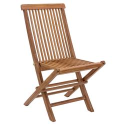 Reena Modern Classic Solid Teak Wood Outdoor Dining Chair | Kathy Kuo Home