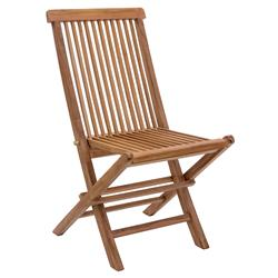 Reena Modern Classic Solid Teak Wood Outdoor Dinning Chair | Kathy Kuo Home